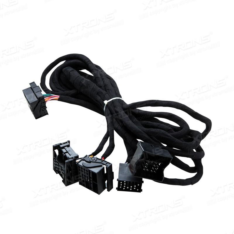 compatible con modelos de BMW E46 Serie 3 Controlador de autorradio para el volante Connects2